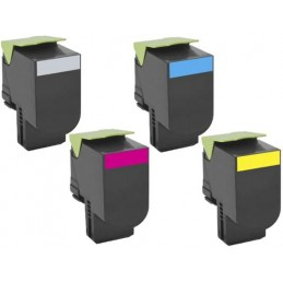 Yellow Compatible Lexmark C2132,XC2130,XC2132-3K