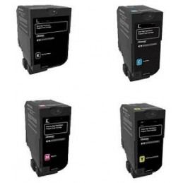 Yellow Compatible Lexmark XC4100,XC4140,XC4150-13K24B6719