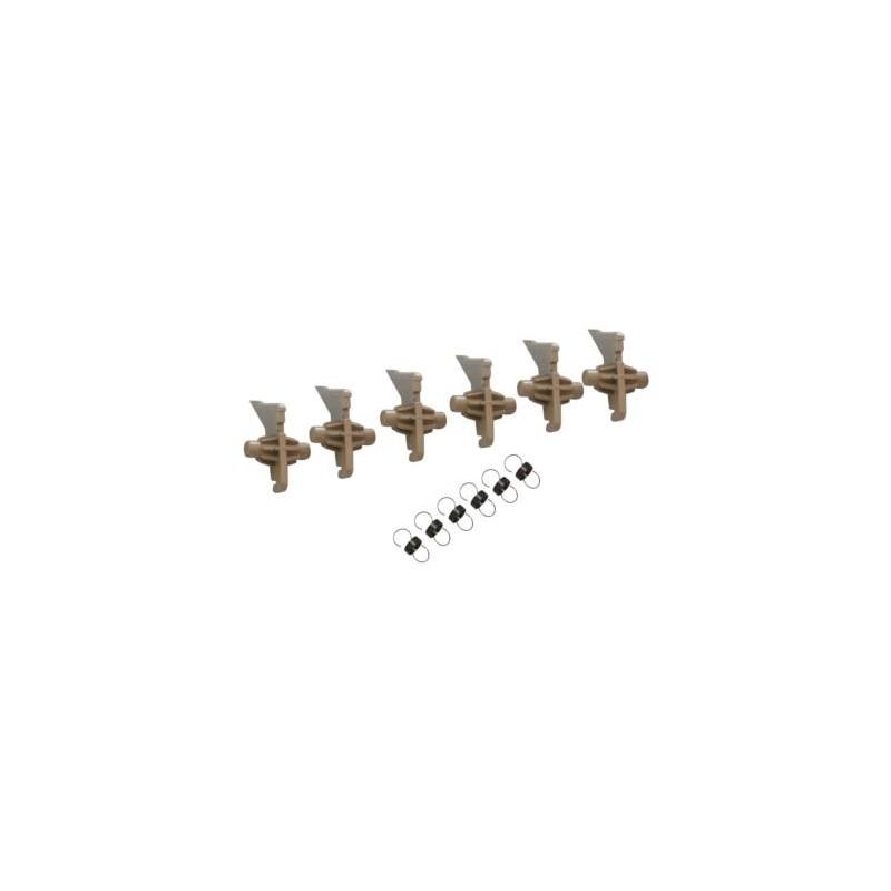 6xUpper Picker Finger W/Spring KM3050,KM4050,KM50502BL20080