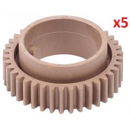 5xUpper Roller Gear 38T Aficio 1515,MP162,MP171B044-4170