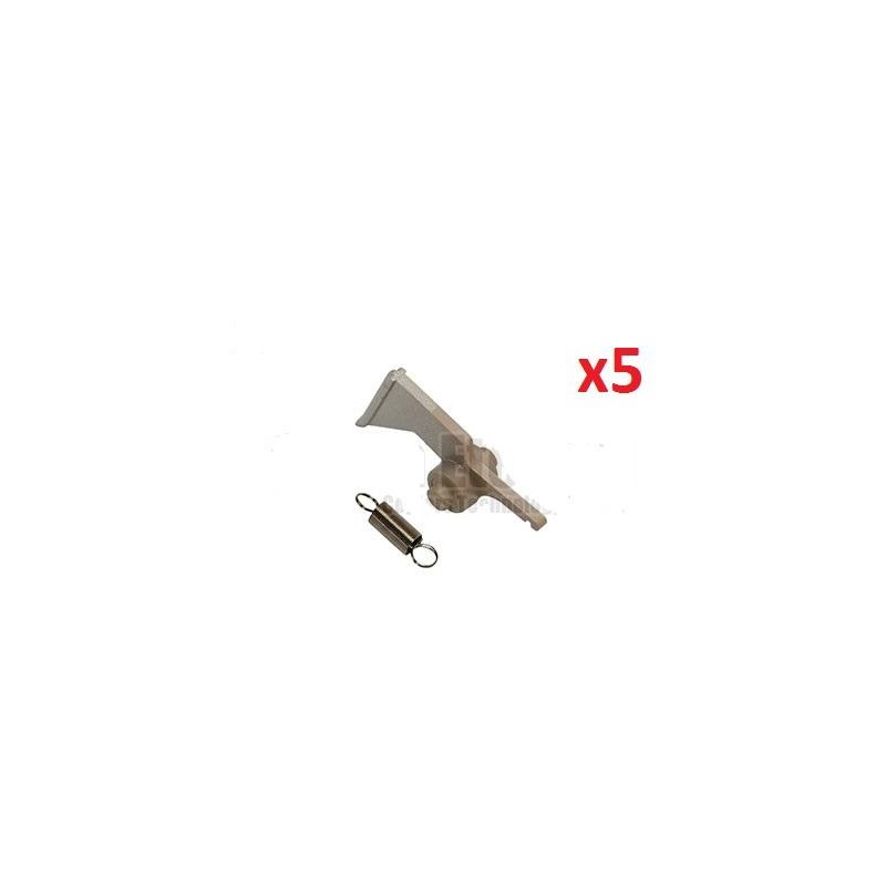 5xUpper Picker Finger W/Spring MP9001,7000,8000AE04-4060