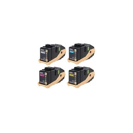 Ciano rigenerat for Epson Aculaser C9300 Serie -7.5KS050604