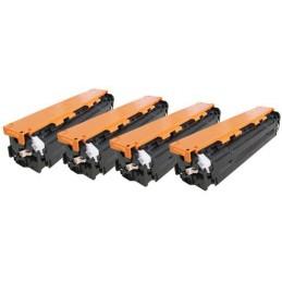 Yellow toner universal HP CB542A/CE322A/CF212A-1.4K