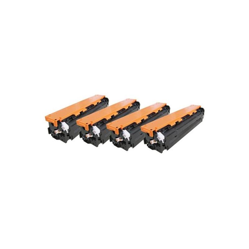 Magente toner universal HP CB543A/CE323A/CF213A-1.4K
