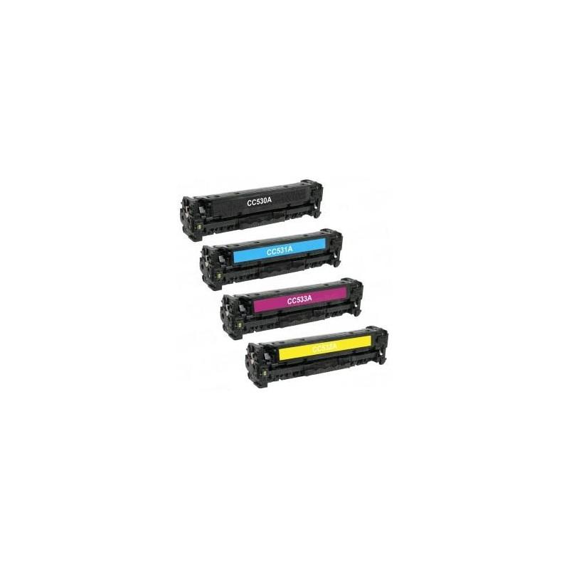 Black toner universal HP CC530A/CE410X/CF380A/X-4.4K