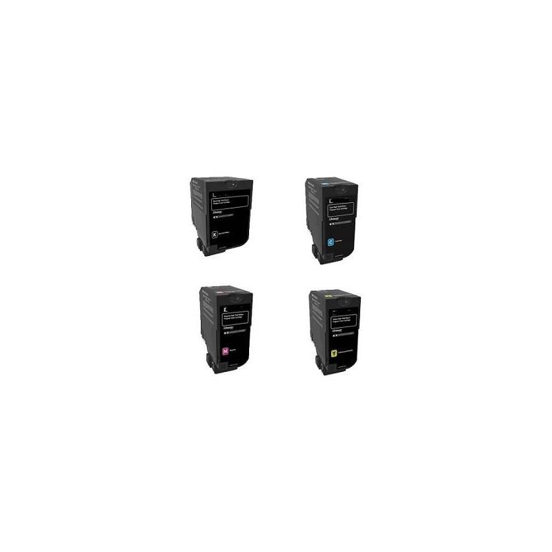 Mps Black CS421,CS521,CS622,CX421,CX522,CX622,CX625-2K