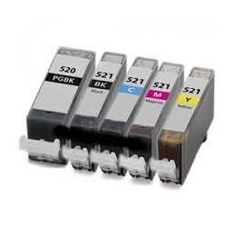 Yellow 10ml con chip per Canon Ip3600/IP4600/MP540/MP620...