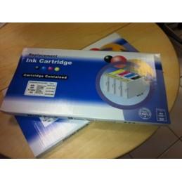 10 Cartucce Com T01811-1812-1813-1814 (4x black+6 color)